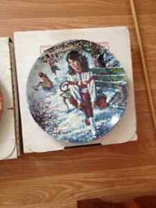 Collector plates - Reflections of a Canadian childhood series