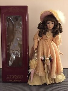 Genuine Porcelain Doll by Rebecca Mamouré. Hand painted. West Island Greater Montréal image 2