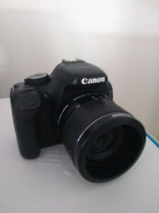 Canon T2I 18-55mm Camera Body, Charger & Batteries