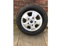 4 New Ford Transit Custom Limited Alloy Wheels