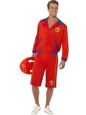 Baywatch Rettungsschwimmer Kostüm Lifeguard Hasselhoff - Lifeguard Kostüm Herren