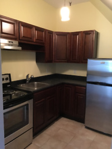 large renovated downtown Bachelor available July 1 or now