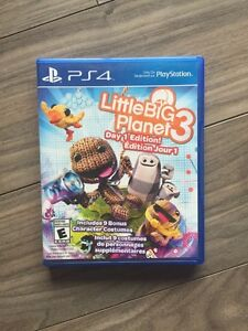 PS4 little big planet 3 - day 1 edition