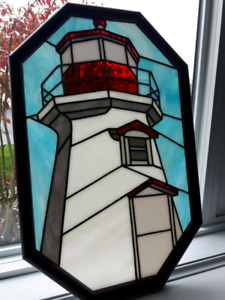 Stained Glass of Lighthouse