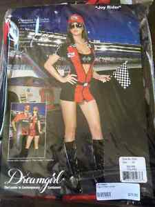 "Woman's ""Joy Rider"" Race Car Costume -size x-small"