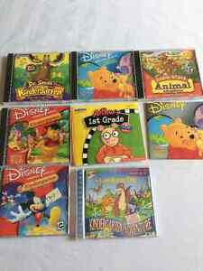 Pre-school to 1st Grade Educational CDs(1.00 or 2.00 each)