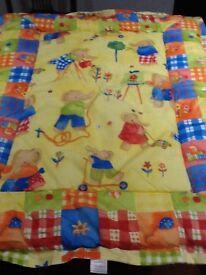Baby cot blanket new