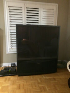 52 inch Toshiba projection tv for sale