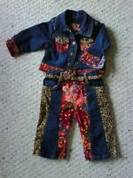 Baby girl jacket new condition, $4