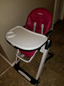 Peg Perego Highchair in Berry