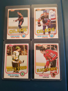 1981-82 TOPPS HOCKEY SET FOR SALE Excellent Mint Condition