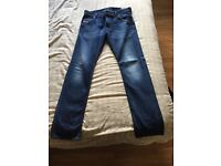Diesel jeans regular slim 32w 32L
