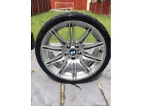 Genuine BMW MV4 rear 9j alloy wheel