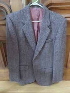 Harris Tweed & Executive Club tweed suit jackets $20 each
