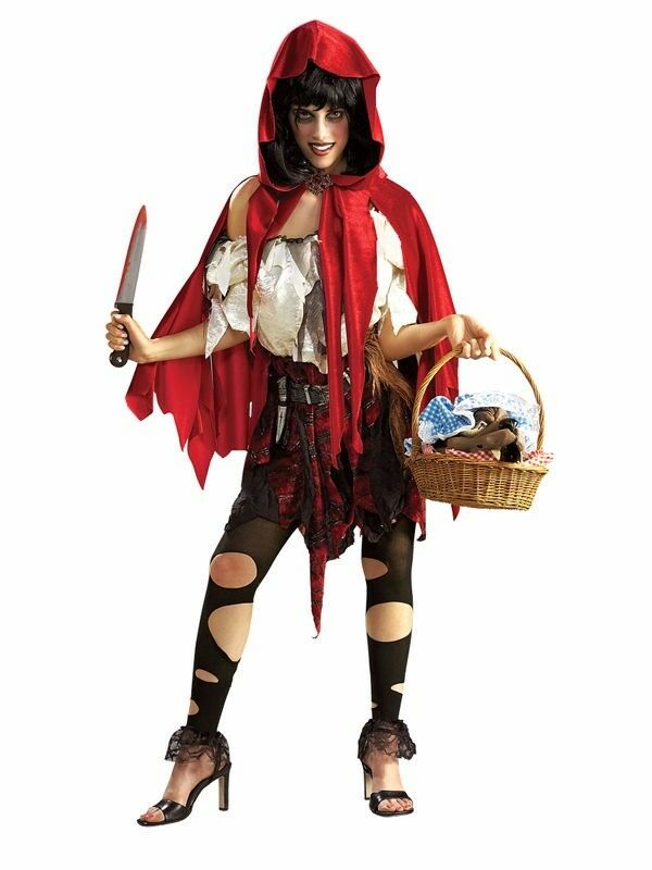 Fancy Dress Lil Dead Riding Hood Costume/Outfit- Size 10-12 *BRAND NEW IN PACKAGING* RUNCORN