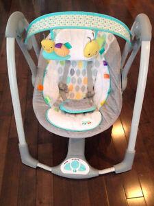 Balançoire unisexe pour bébé