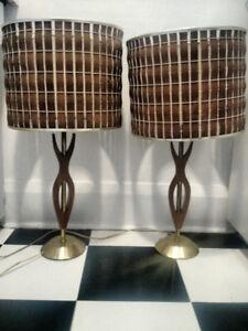 Teak Lamps