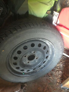 Winter tires on rims, 4x114.3, Accord, Elantra, Sonata, Altima