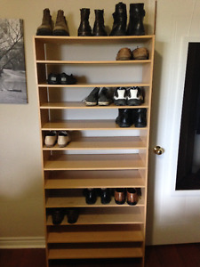 IKEA shoe shelf (must be picked up by Friday morning)