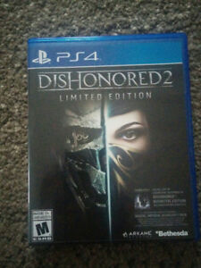 PS4: Dishonored 2 - limited edition