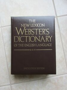 Webster's Dictionary Encyclopedic Edition