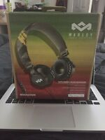 Brand new Marley headphones