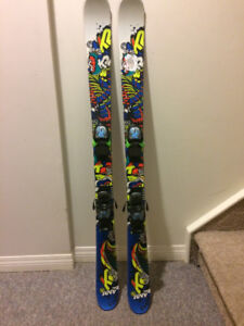 Kids Ski Package -High end Tecnica boots, solid K2skis and poles