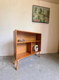 Mid Century Vintage Teak Bookcase