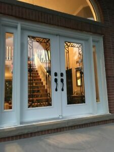 Exterior steel & fiberglass door 50% OFF
