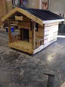 Extra Large Fully insulated Dog house with a Balcony