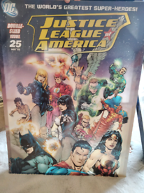 Justice League canvas poster