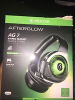 Xbox one AG7 Headset ** never used **