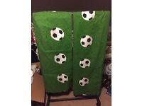 Football theme curtains