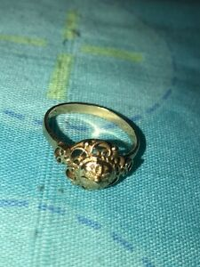 22k ladies gold ring