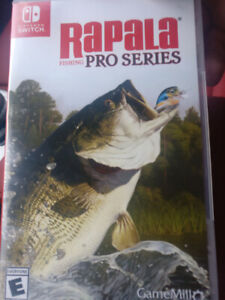 Rapala Fishing Pro Series - Nintendo Switch (For Trade or Sale)