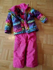 Girl's Size 4 Snow Suit