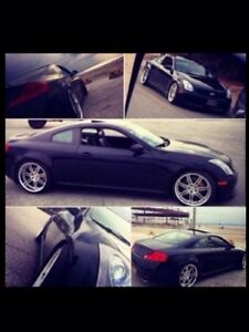 Black Infiniti G35 coupe 6mt must see!