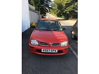 1999 Nissan micra 1.0 16v cheap runabout