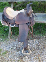 15 IN WESTERN SADDLE BY RED RANGER