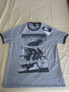 Cycling Print T-shirt