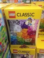 In search of Lego classic 1500 pcs was at wal-Mart but sold out