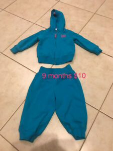 Girls size 12 months clothing