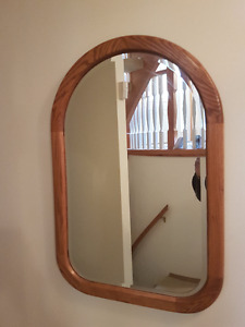 Quality Oak Framed Mirror from the Country House