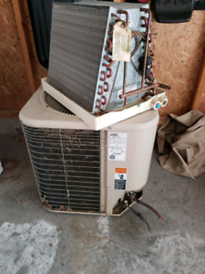 Central air conditioner with coil