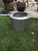 Stainless steel fire pit only 2 left
