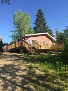 Lakefront Cottage Maniwaki Negotiable Chalet  bord lac