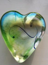 Robert Held glass heart