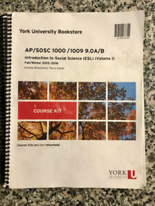 AP/ SOSC 1000 Introduction to Social Science Course Kit