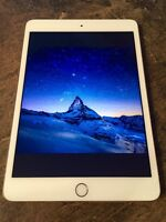IPad Mini 3 16gb W/ Case (Fingerprint Sensor)