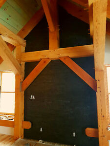 Heavy Timberframing Timber accents and carpentry